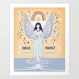 Forgive yourself Art Print