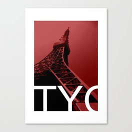 TYO tower Canvas Print