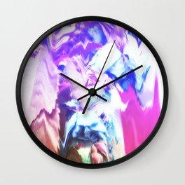 Radioactive Flower I Wall Clock