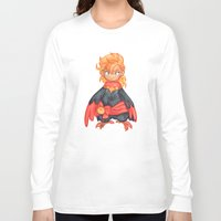 captain Long Sleeve T-shirts featuring captain by noCek