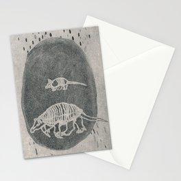 Armadillo Aqua Stationery Cards