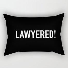 Lawyered Rectangular Pillow
