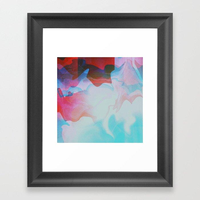 Glitch 29 Framed Art Print