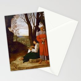 "Giorgione ""Three Philosophers"" Stationery Cards"