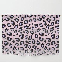 Leopard Print - Lavender Blush Wall Hanging