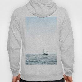 BOAT - WATER - OCEAN - SEA - PHOTOGRAPHY Hoody