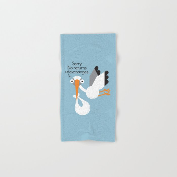 Delivery Policy Hand & Bath Towel