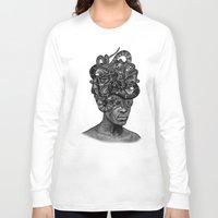 medusa Long Sleeve T-shirts featuring MEDUSA by DIVIDUS