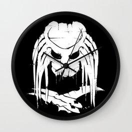 Pochoir - Predator Wall Clock