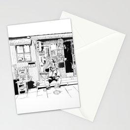 tokyo drinker Stationery Cards