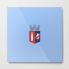 Flag of Tirana Metal Print
