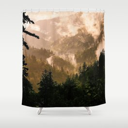 Smoky Mountain Sunset II Shower Curtain