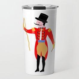 Circus Ring Master Circus Party Travel Mug