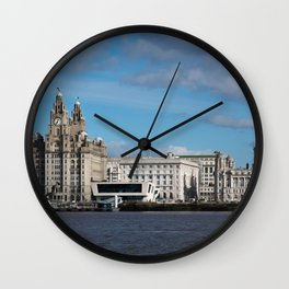 Liverpool Mersey Liver Building Wall Clock