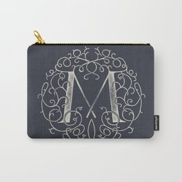 """""""M""""ONOGRAM Carry-All Pouch"""