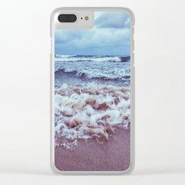 Scrambled sea Clear iPhone Case