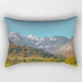 Peaceful Autumn in Poland Rectangular Pillow