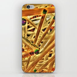 Through Core and Cable iPhone Skin