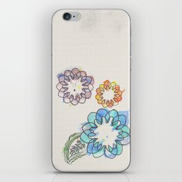 Water-colour Flowers iPhone Skin