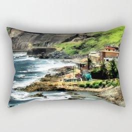 Del Barrio a la Garita Rectangular Pillow
