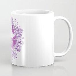 Sexy Woman zombie WITH Flower -  Carla - Vivid Violet - Lavender Coffee Mug