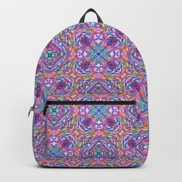 Check Yourself Purple Backpack
