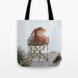 Summer at the beach - Landscape and Nature Photography Tote Bag