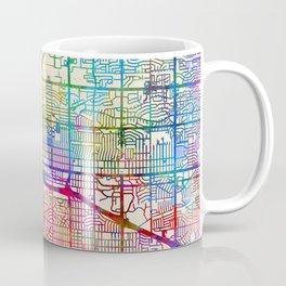 Albuquerque New Mexico City Street Map Coffee Mug