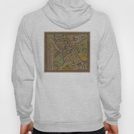 Vintage Map of Reading England (1611) Hoody