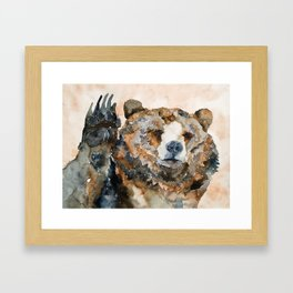 BEAR#3 Framed Art Print