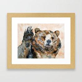 BEAR#3 Framed Art Print