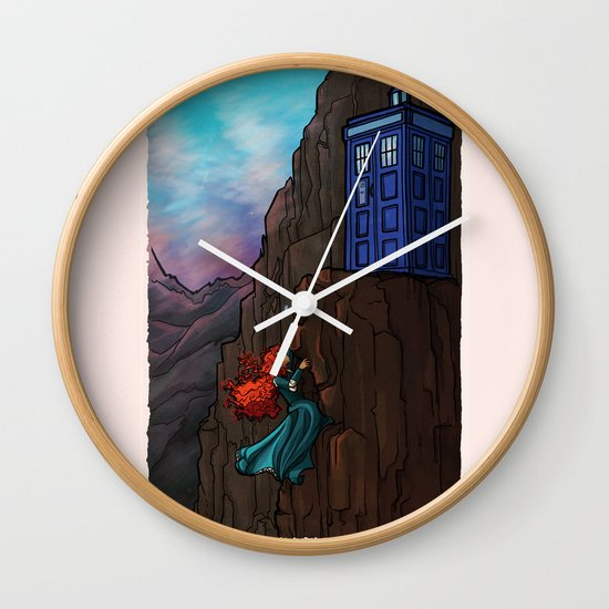 Touch the sky...and then the stars. Wall Clock