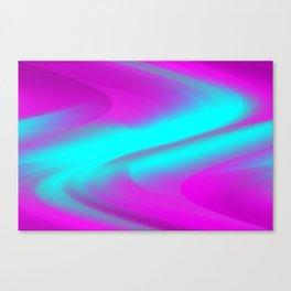 DREAM PATH (Purples, Fuchsias & Turquoises) Canvas Print