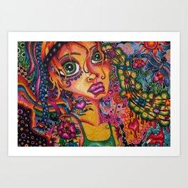 Musical Candy Art Print