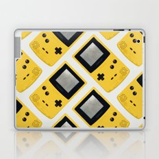 Gameboy Color: Yellow (Pattern) Laptop & iPad Skin