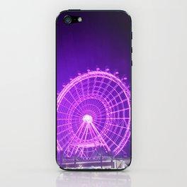 Purple Wheel iPhone Skin