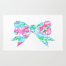 Lilly Pulitzer Bow Rug
