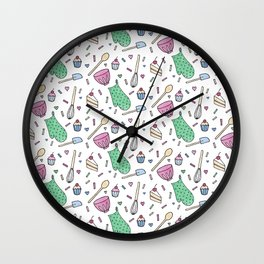 Good Things Come to Those Who Bake Wall Clock
