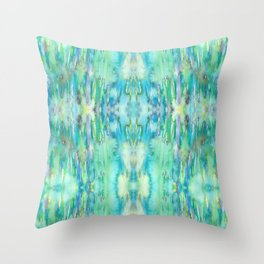 Water and Light Reflections Throw Pillow