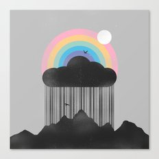 Beyond the Rain Canvas Print