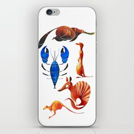 Australian animals 2 iPhone Skin
