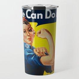 We Can Do It Travel Mug