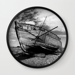 The Clinker Fishing Boat Wall Clock