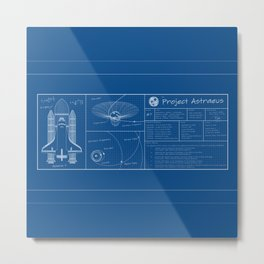 Project Astraeus Metal Print
