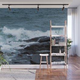 Great Lake Waves Wall Mural