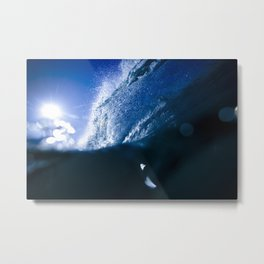 Cobalt Blue Metal Print