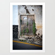 Passage secret Art Print