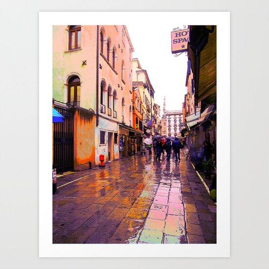 Bella Venezia IV  Art Print