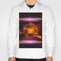 pentagram Hoodies featuring Pentagram  by nicky2342