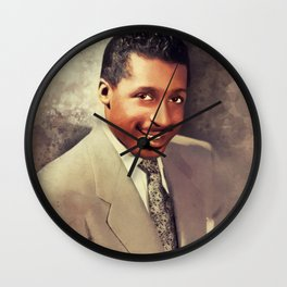 Erroll Garner, Music Legend Wall Clock